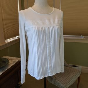 Boden knit lace top size 4